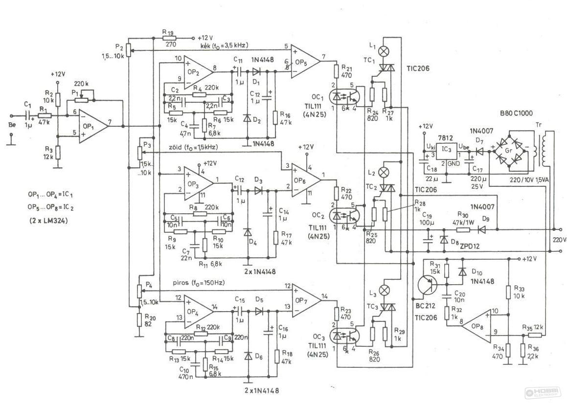 Hobby elektronika kapcsolási rajzok