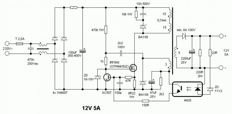 RPi GPIO Interface Circuits likewise Fet Based Audio Power  lifier With 12w Output as well 10 MC TD MVBR 19094 further Will The Large Gate Current When Turning On Off Power Mosfets With Gate Drivers together with Impulz3 en. on fet switching power supply circuit