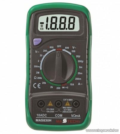 Multiméter problémák - Hobbielektronika.hu - online elektronikai on